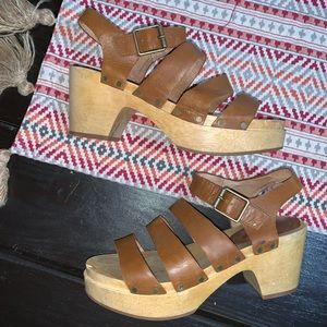 Madewell clog sandals size 6